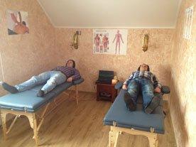 Массажный зал наркологический клиники