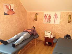 Прохождение процедуры Физиотерапии в наркологическом центре